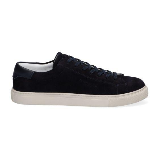 Sneakers Low - Blauw - Leer - Lage sneakers voor heren