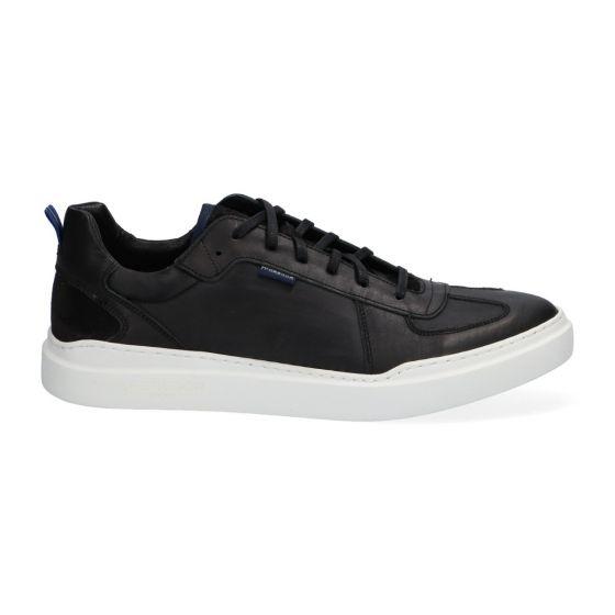 Sneakers - Zwart - Leer - Lage sneakers voor heren