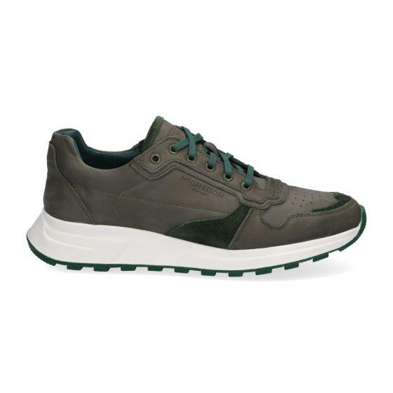 Sneakers Gregor - Groen - Nubuck - Lage sneakers voor heren