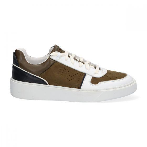 Sneakers MCG - Groen - Nubuck - Lage sneakers voor heren