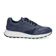 Sneakers Gregor - Blauw - Nubuck - Lage sneakers voor heren
